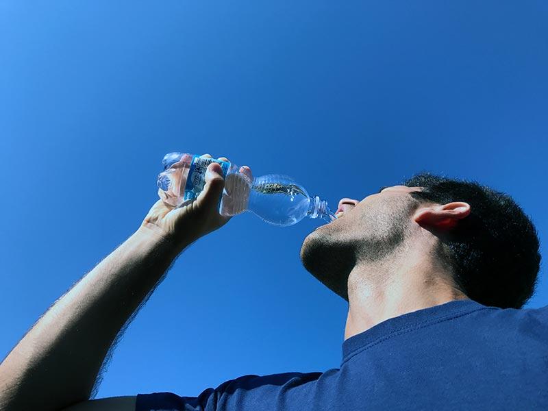 disidratazione attenzione